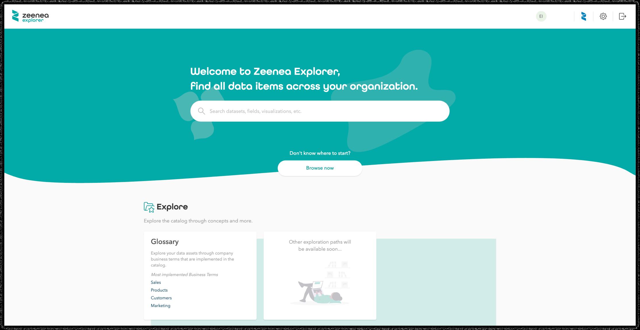 Zeenea Explorer